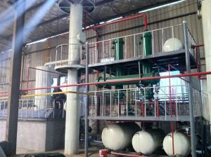 Дистилляционная установка, для переработки масел и нефтепродуктов LY 5