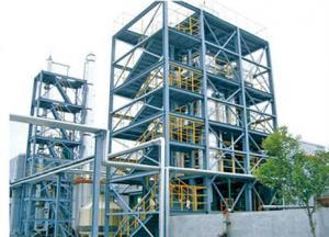 Установка дистилляции для получения дизельного топлива и бензина из пиролизного масла с объемом переработки 20 тонн в сутки