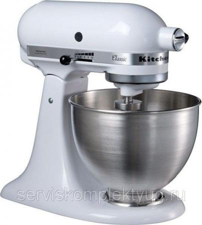 Миксер KITCHEN AID 5K45SSEWH (белый), США