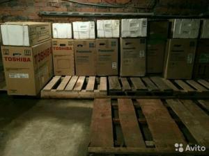 Склад-магазин сплит систем и кондиционеров в Анапе