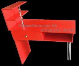 Маникюрный стол с ящиком и полкой