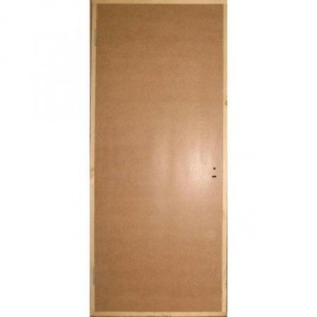 Дверь оргалитовая строительная ДГ 24-13 ГОСТ 6629-88 глухая