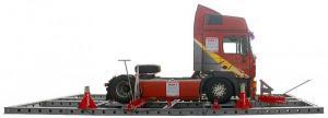 Стенд для правки рам грузовых автомобилей SIVER T