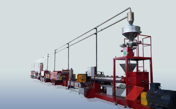 линия по производству лент упаковочной из ПЭТ