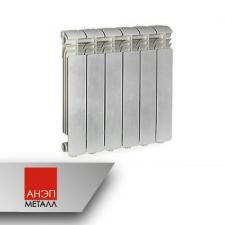 Радиатор секционный алюминиевый Ogint Delta Plus 350 - 8 секций 920 Q, вт