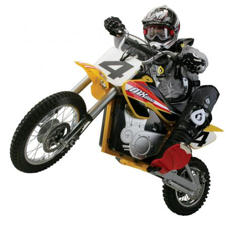 Электробайк Razor Dirt Rocket MX650